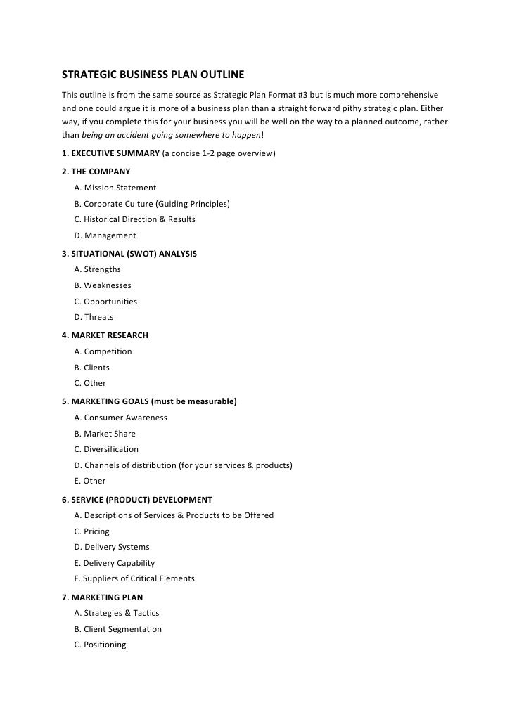 example of business plan report