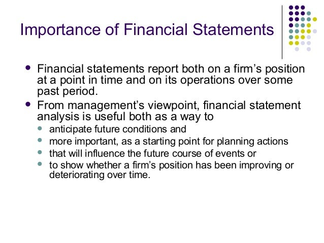 statement of financial position example question