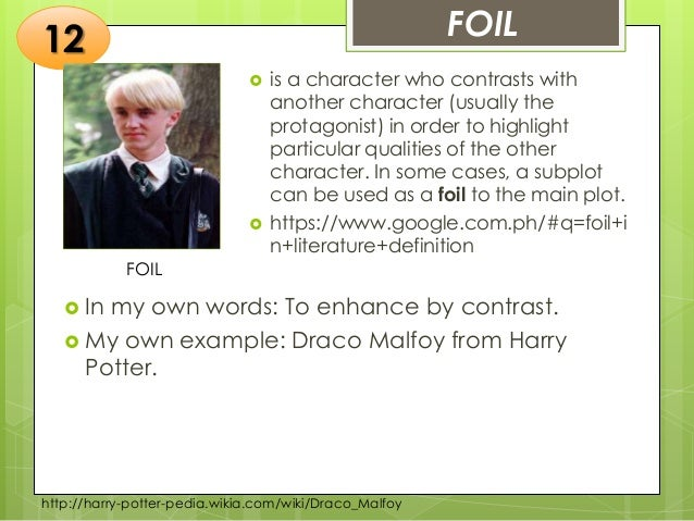 example of subplot in harry potter