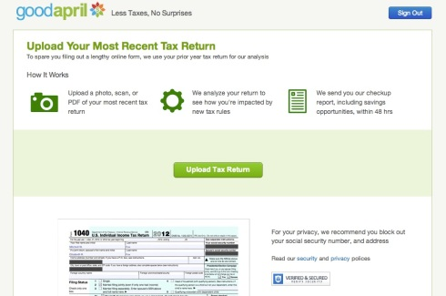 example of a psi tax return