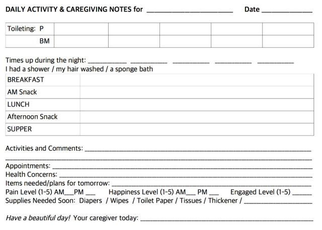 attendant carer employee contract example