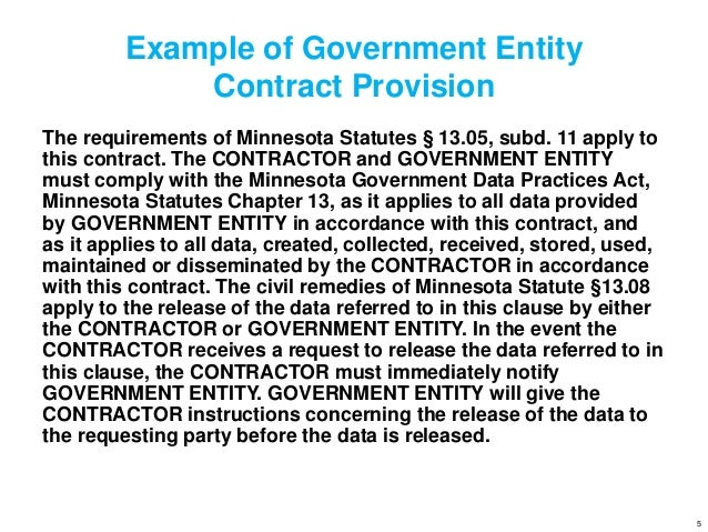 example of a government security