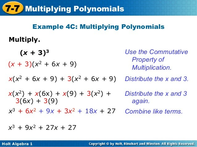 commutative property definition and example