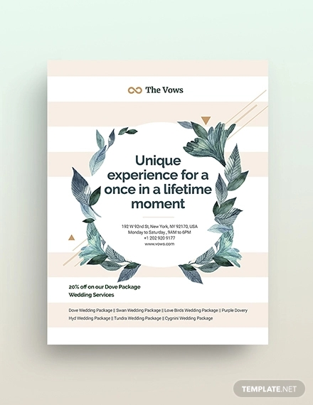 save the date flyers template example