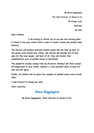 job application letter example ks2