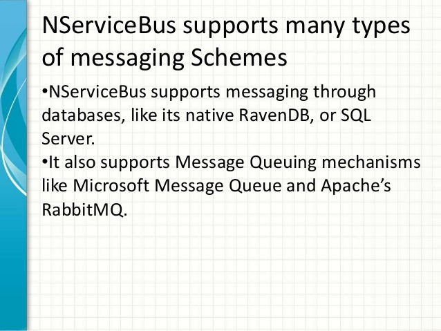 sql server message queue example
