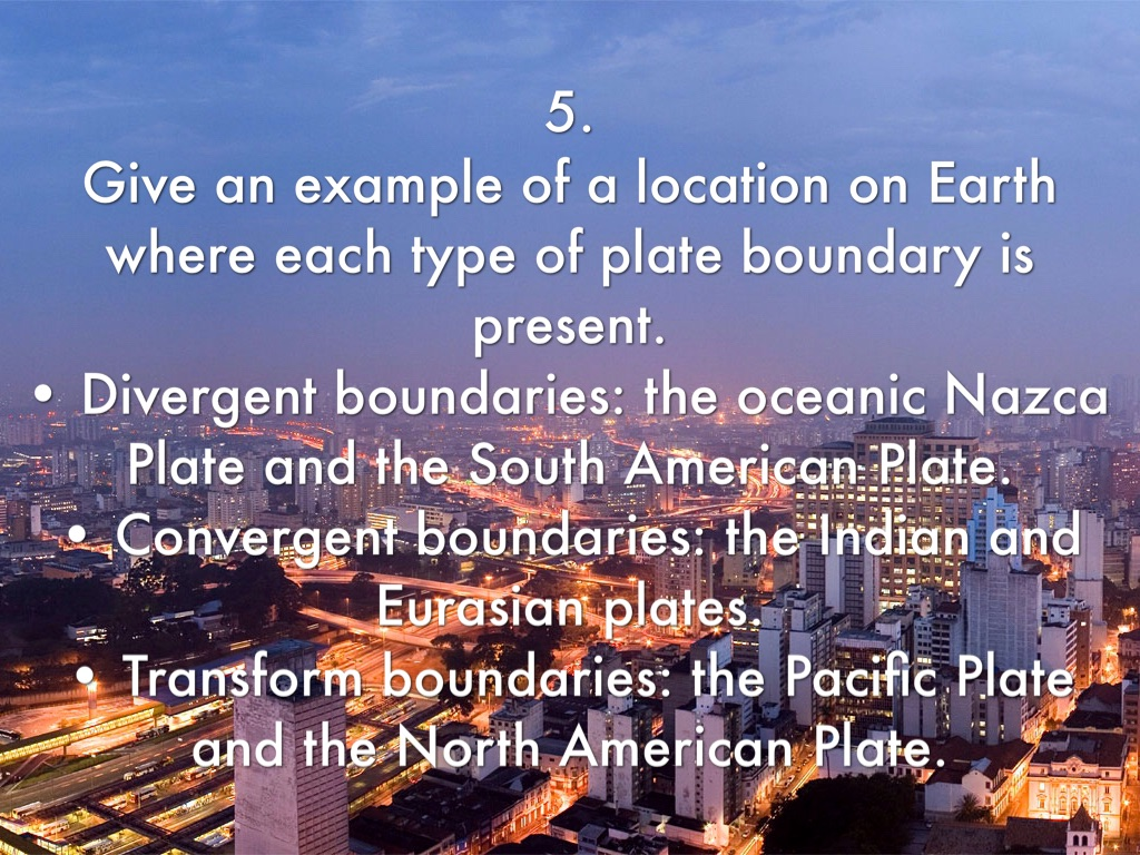 what is a transform boundary give an example