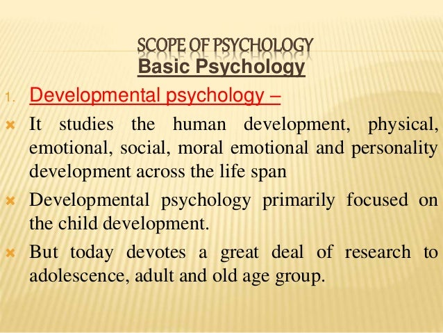 what is an example of basic research in psychology