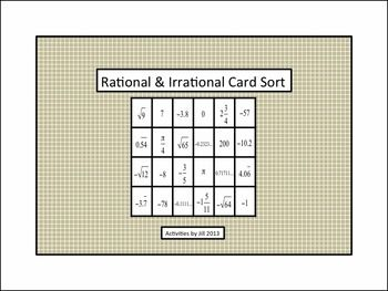 what is an example of irrational numbers